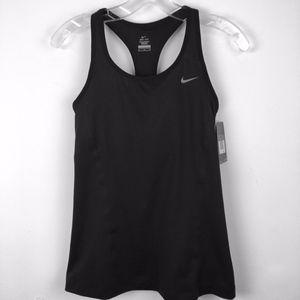 Nike Dri Fit racerback sports tank black Med NWT